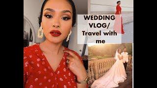 MEET MY MOM,  DRAKES HOUSE, WHAT I WORE & MARYAMS WEDDING!!| VLOG