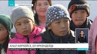 Жамбыл облысының Балуан Шолақ ауылында жаңа мешіт ашылды