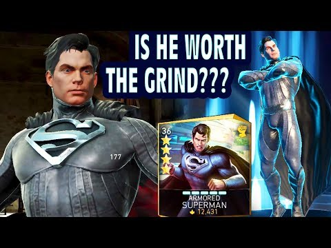 injustice 2 Mobile. Unlocking Armored Superman. Gameplay, Review, Super Move. IS HE REALLY GOOD?😶