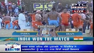 India vs Iran | Men