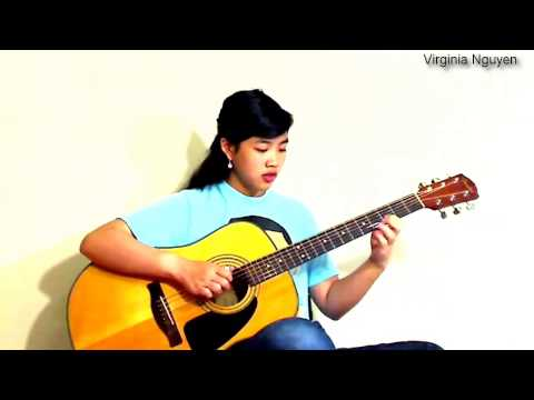 Thuở ban đầu - Guitar Virginia Nguyen(bé Mẫn)
