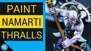 How to paint Idoneth Deepkin Namarti Thralls Age of Sigmar Warhammer (Tutorial)