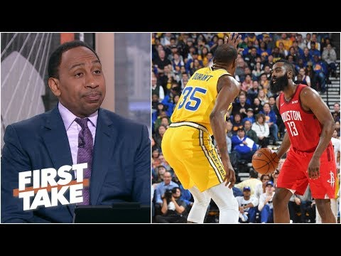James Harden shouldn't have the Warriors worried about the Rockets – Stephen A. | First Take