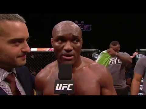 The Ultimate Fighter Finale: Kamaru Usman Octagon Interview