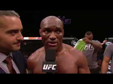The Ultimate Fighter Finale: Kamaru Usman Octagon Interview