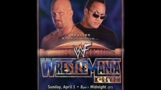 WrestleMania X-Seven (2001) Review