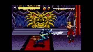 Double Dragon V : The Shadow Falls - (Mega Drive) - Shadow Master - FULL GAME