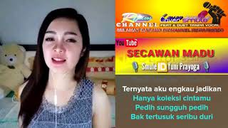 Download Mp3 Secawan Madu Feat Karaoke Smule Tanpa Vocal Cover Yuni
