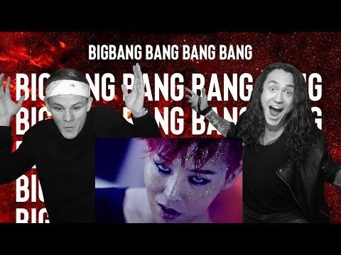 РЕАКЦИЯ РОКЕРОВ НА К-ПОП - BIGBANG - 뱅뱅뱅 (BANG BANG BANG) ENG SUB