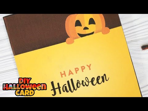 DIY Halloween Cards Spooky And Ghostly Card Tutorial 31 October 2017 | Halloween  Card Tutorial 2