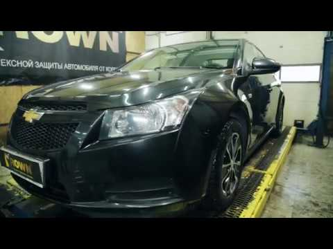 Chevrolet Cruze повторная антикоррозийная обработка.