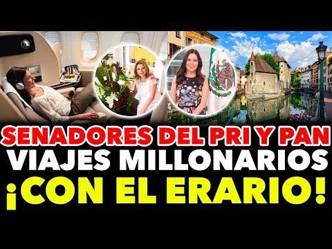 """Senadores VIAJES MILLONARIOS con cargo al ERARIO """"Vida de LUJO"""" - Juca Noticias"""
