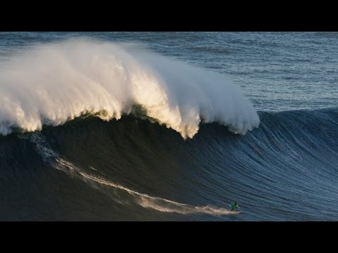 Andrew Cotton: The surfer searching for 100-foot giants