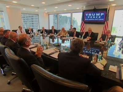Trump Round Table.Raw Trump Holds Roundtable After Staff Shakeup