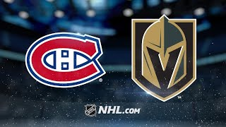 Smith scores twice as Golden Knights rout Habs