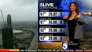 News Channel Weather girl Asked To Cover-Up On-Air. Liberte Chan of...
