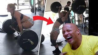 EPIC AND FUNNY GYM FAILS! HAHA