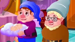स्नो व्हाइट और सात बौने हिंदी - Hindi Kahaniya for Kids | Stories for Kids | Moral Stories for Kids