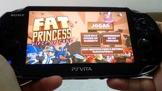 PlayStation Vita - Fat Princess Piece of Cake Gameplay