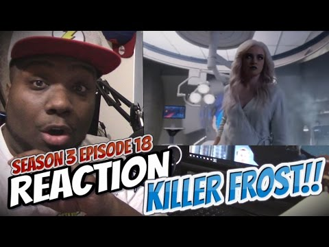 THE FLASH 3X18 REACTION OMG KILLER FROST!!