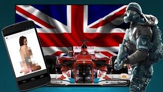Hvad jeg synes om: Nudes, Formel 1, England, The Division