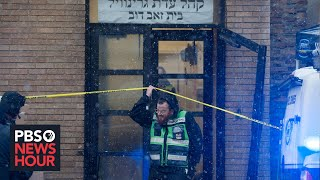 Jersey City mayor attributes deadly shootout to anti-Semitism