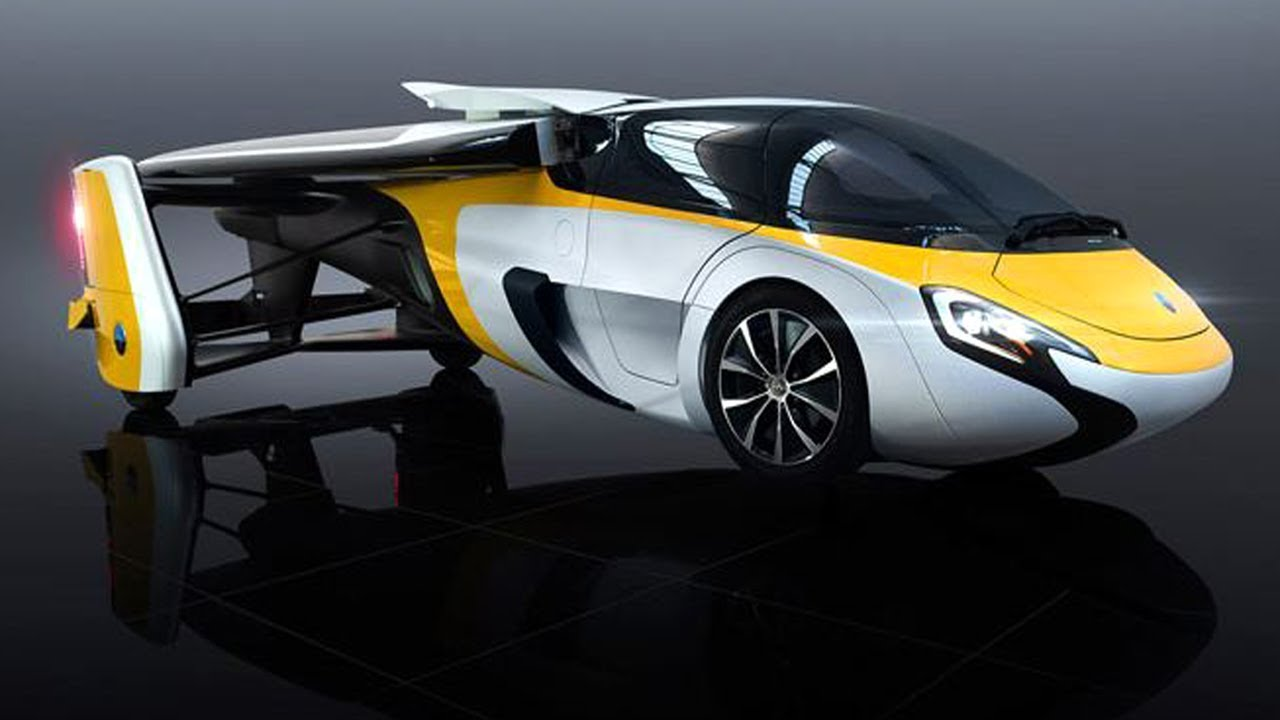 5 Awesome Futuristic Flying Cars Of The Future Youtube