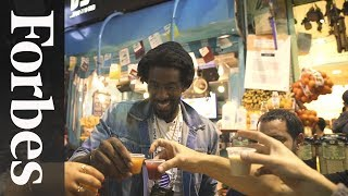 Amar'e Stoudemire Parties With Forbes In Jerusalem
