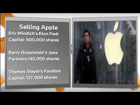 FACTBOX Hedge fund titans fuel Apple's plunge