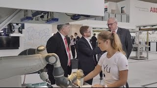 ABB Robotics - YuMi your new coworker at Hannover Fair 2015