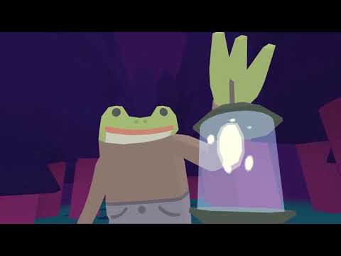 The Case of the Invisible Wizard is a forthcoming frog detective adventure