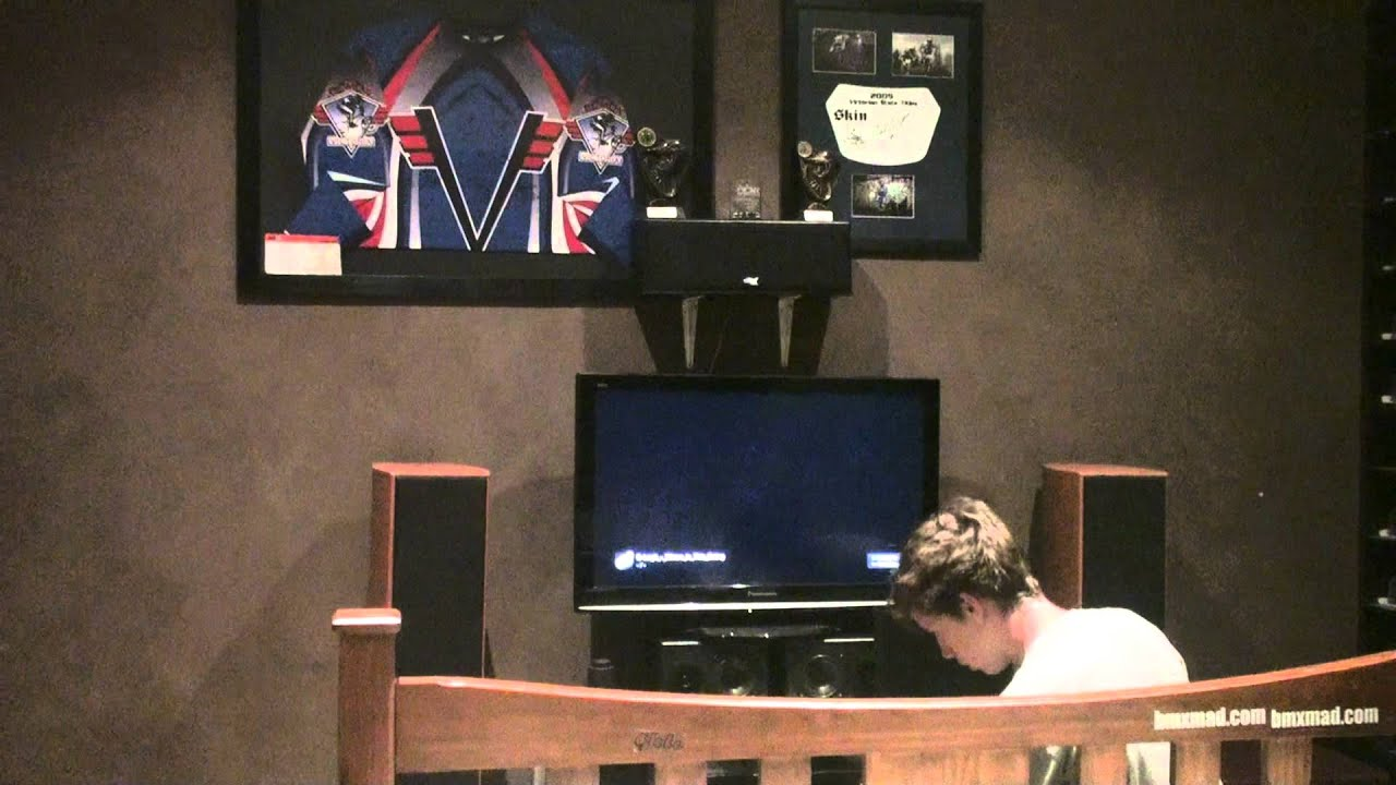 my bedroom home theater set up - youtube