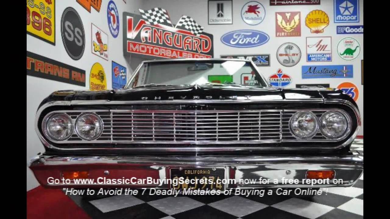 1964 Chevy Chevelle Convertible Classic Muscle Car For Sale In Mi Vanguard Motor Sales Youtube