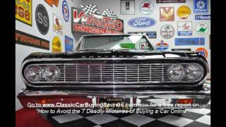 1964 Chevy Chevelle Convertible Classic Muscle Car for Sale in MI Vanguard Motor Sales