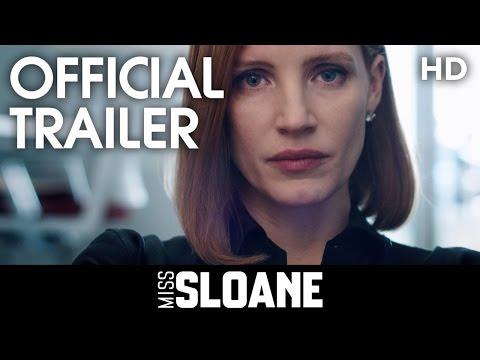 Miss Sloane trailer