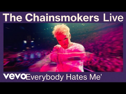 Download The Chainsmokers - Everybody Hates Me Live from World War Joy Tour   Vevo Mp4 baru