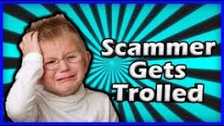 Trolling A Scammer