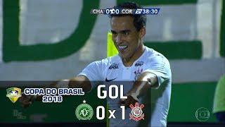 Chapecoense 0 x 1 Corinthians - Copa do Brasil 2018 - Globo HD⁶⁰