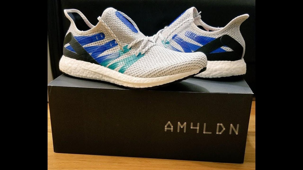 online store 93a8e 9dd87 Adidas Futurecraft AM4LDN unboxing and review