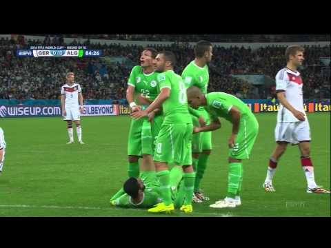 Germany Algeria 2014 World Cup Full Game ESPN Round of 16 r16