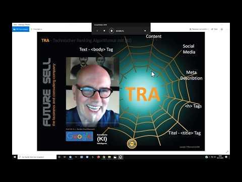 TRA-Technical Ranking Algorithm mit KI ersetzt SEO