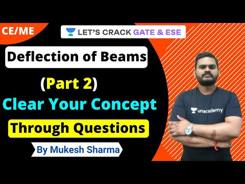 Deflection of Beams: Clear Your Concept Through Questions (Part 2) | Strength of Material | Mukesh
