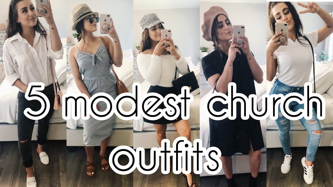 e75306090eb00 SUMMER OUTFITS FOR CHURCH!! (MODEST&CUTE) - YouTube