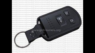 Ful HD Anahtarlık Gizli Kamera Kullanım Videosu