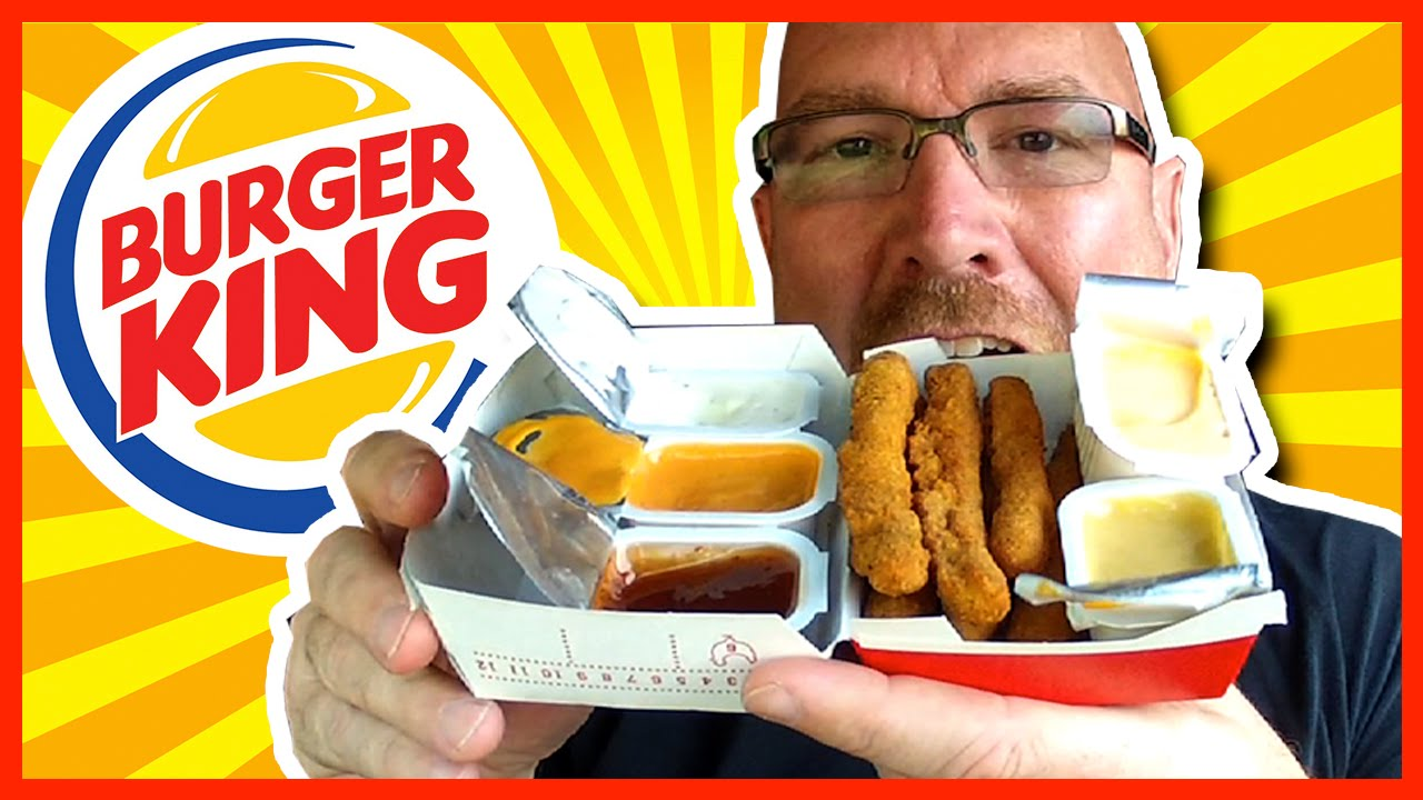 Burger King Chicken Fries Plus 6 Sauces Review and Drive-Thru Experience