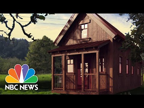 Living Large In A Tiny Home Startups Nbc News Youtube