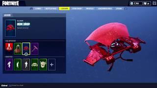 Fortnite Battle Royal YULETIDE RANGER Skin and PINK FLAMINGO Pickaxe Skin INGAME