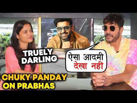 SAAHO Actor Chunky Panday Reaction On Prabhas Will Melt Your Heart | ONLY For Prabhas DIE-HARD FANS Mp3