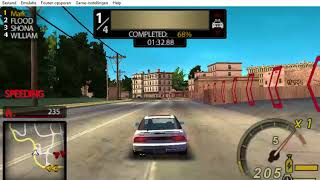 Need For Speed Undercover PSP - Part 4 - Race # 4 - Horseshoe (Sprint)