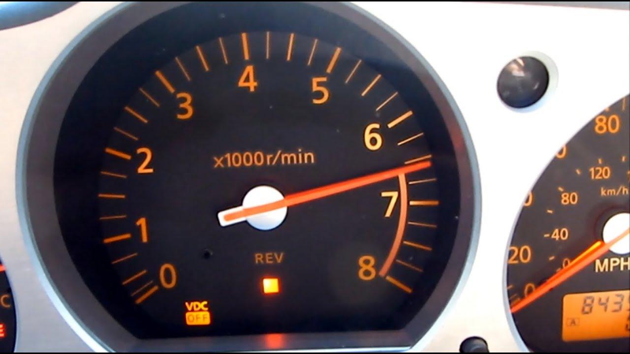 maxresdefault nissan 350z review shift light rpm gauge cluster vq35 z33 g35 g37 motor wiring diagram [ 1612 x 900 Pixel ]